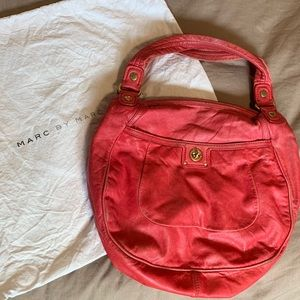 Marc Jacobs | Red Leather Hobo Purse